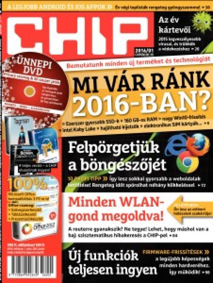CHIP Magazin 2015 - 12.
