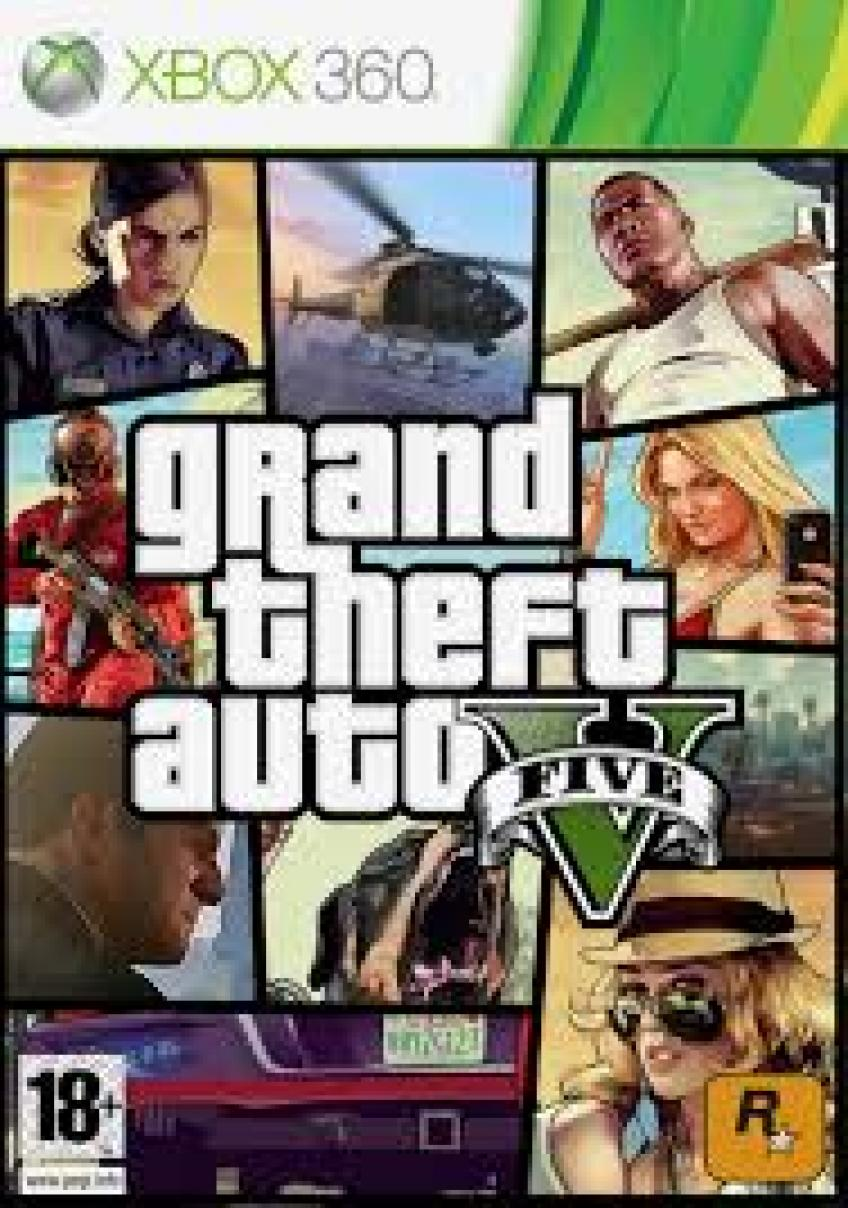 [XBOX360] Grand Theft Auto V