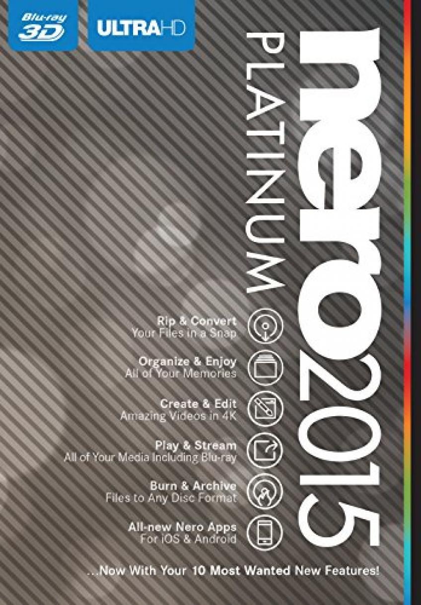 Nero 2015 Platinum v16.0.05000 HUN