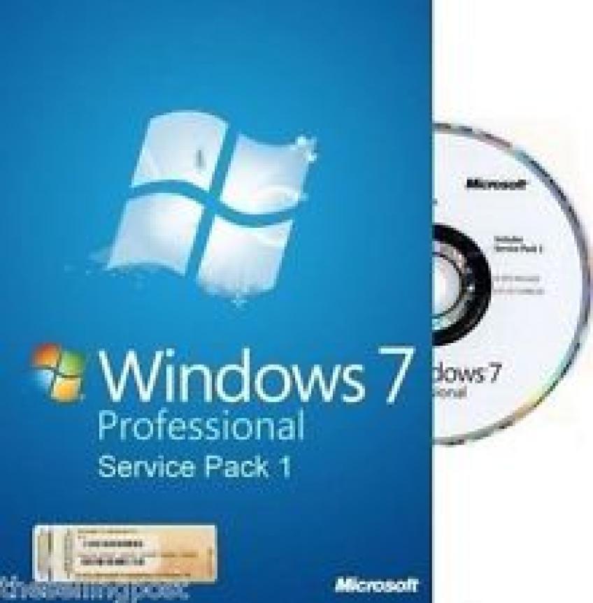 Microsoft Windows 7 Professional SP1 x64 MSDN HUN