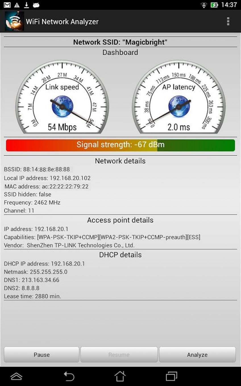 [Android] WiFi Analyzer Pro v1.3.7