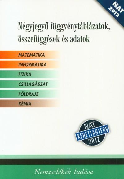 Various Authors - Négyjegyű függvénytáblázatok, összefüggések és adatok