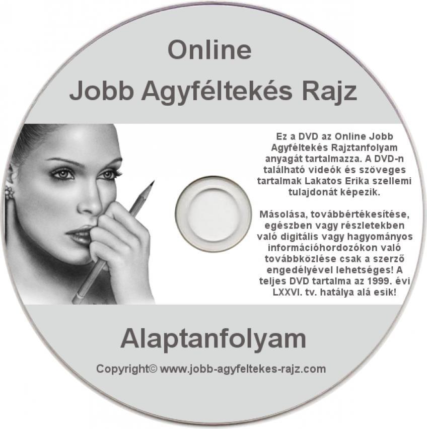Online Jobb Agyféltekés Rajz - Alaptanfolyam