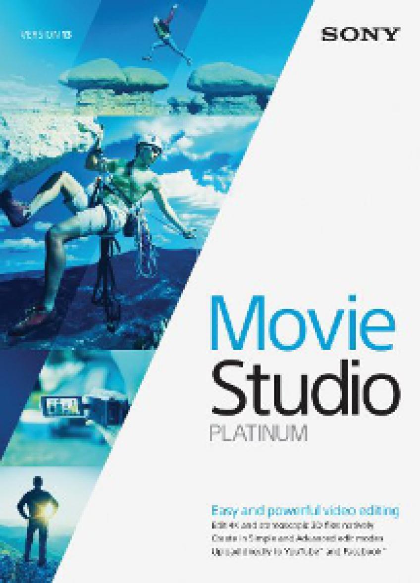 Sony Vegas Movie Studio Platinum v13.0.932 x64