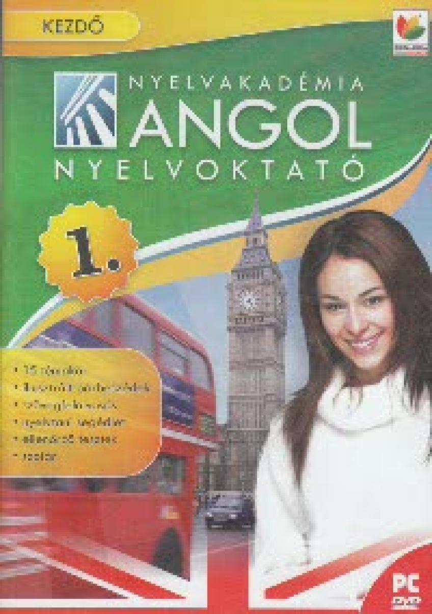 Nyelvakadémia Angol 1. - Kezdő nyelvoktató