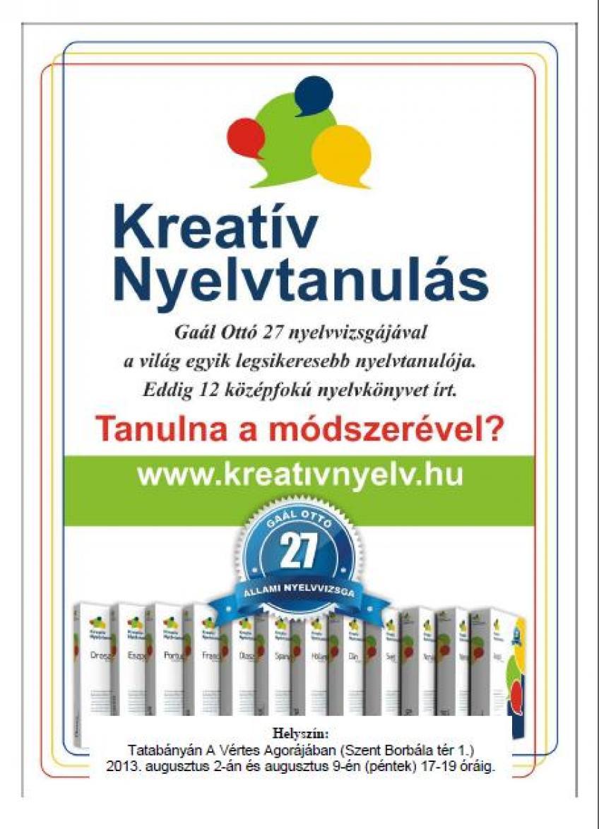 Gaál Ottó - Kreatív nyelvtanulás - Svéd