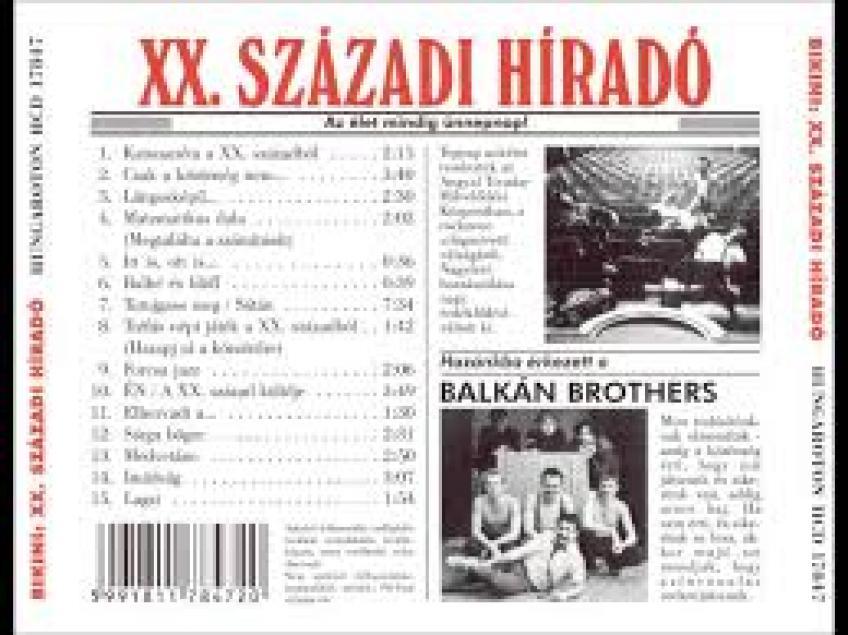 Nagy Fero es a Bikini - [1984] XX. szazadi hirado
