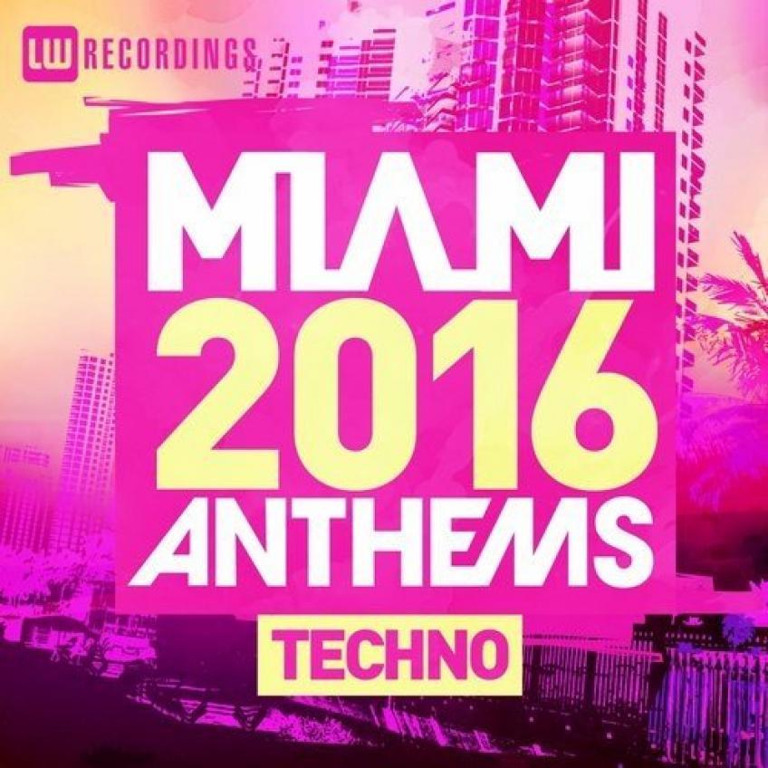 VA - Miami 2016 Anthems - Techno