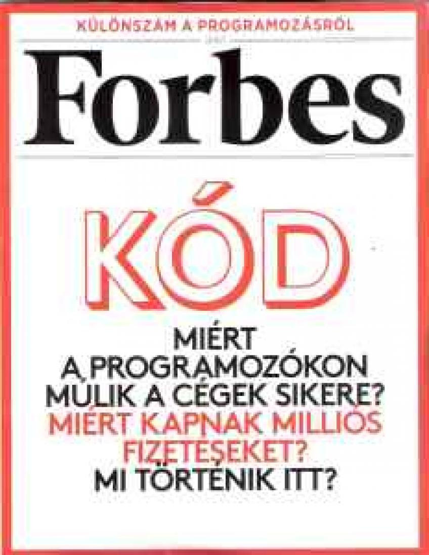 Forbes - Különszám a programozásról 2015 - 12.