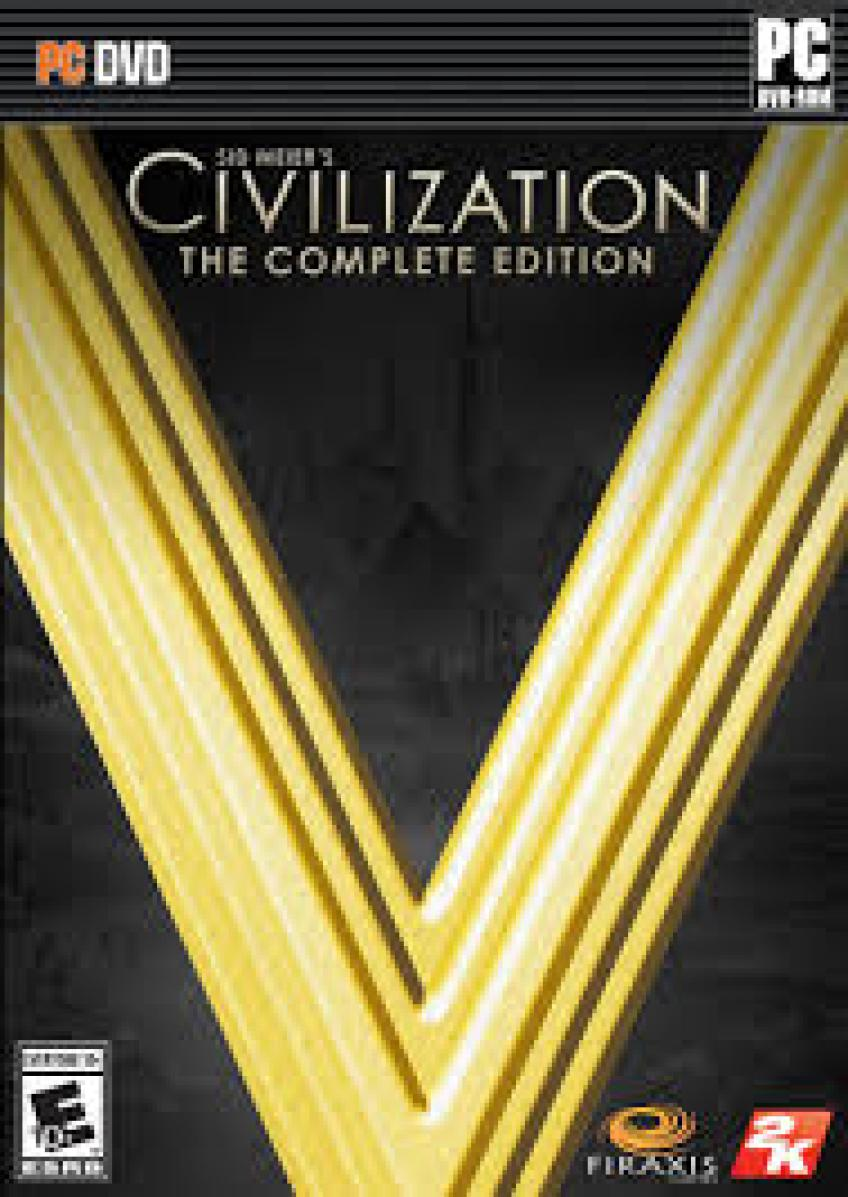 Sid Meier's Civilization V - The Complete Edition DVD5