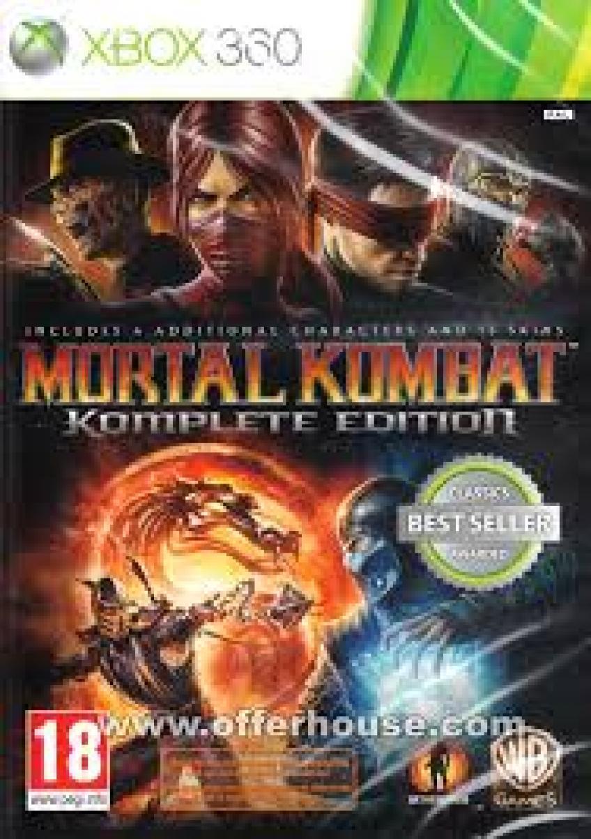 [XBOX360] Mortal Kombat - Komplete Edition