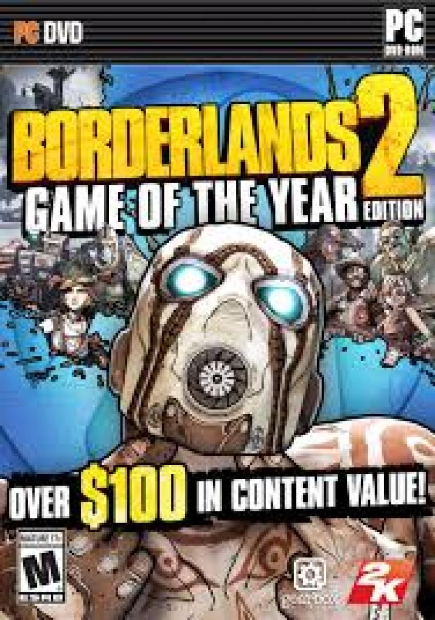 Borderlands 2 - Game of the Year Edition 2xDVD5