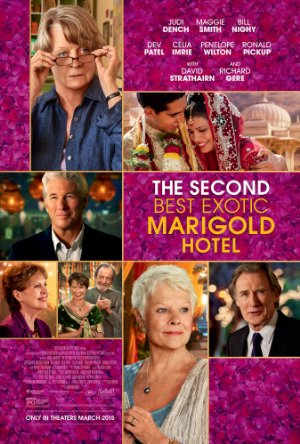 Keleti nyugalom - A második Marigold Hotel