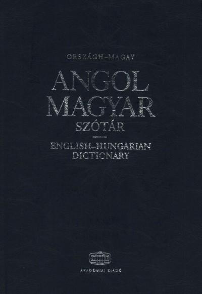 Magay Tamás, Országh László - Angol-magyar szótár