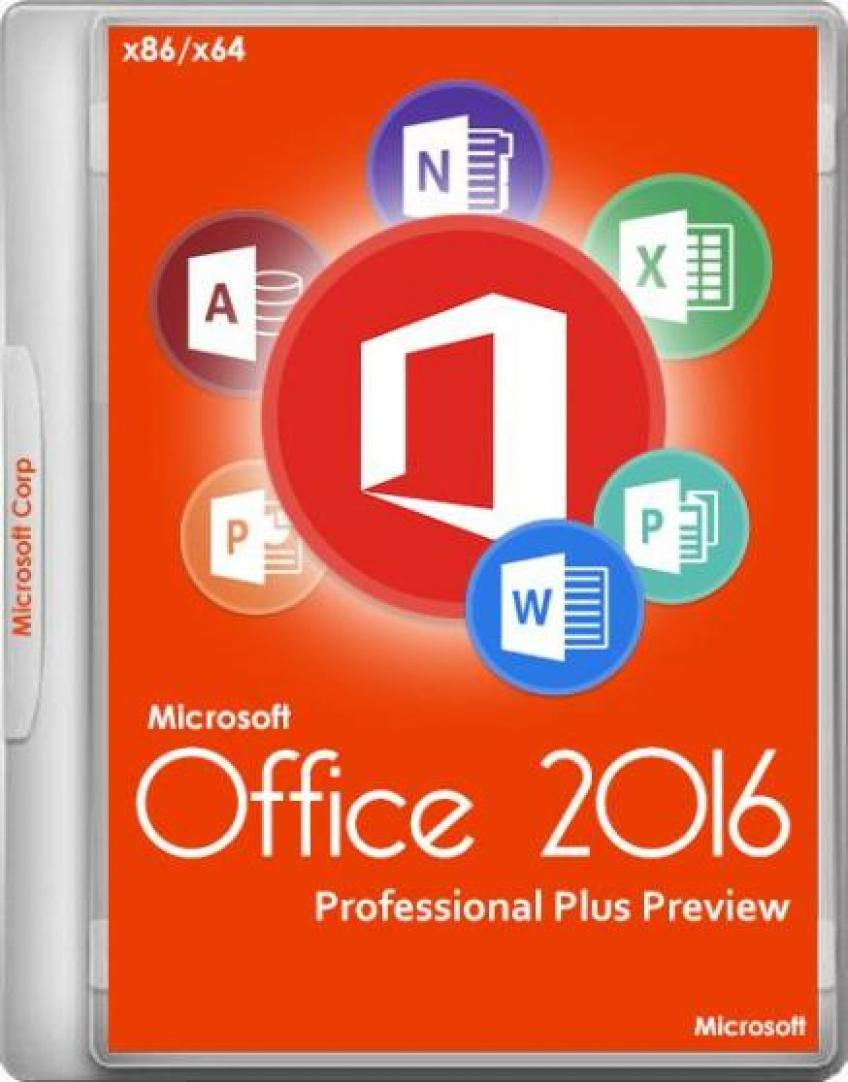 Microsoft Office 2016 Professional Plus x86 - x64 MSDN HUN VLSC