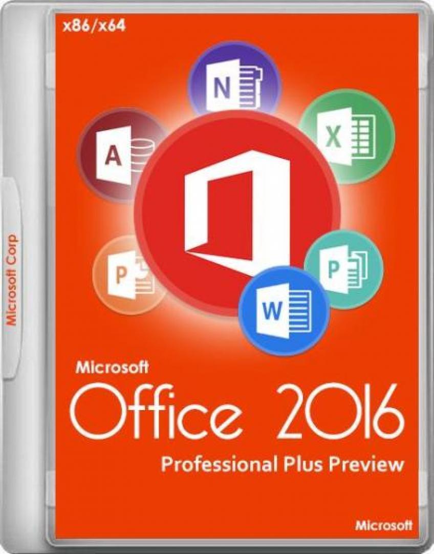 Microsoft Office 2016 Professional Plus MSDN HUN x86-x64