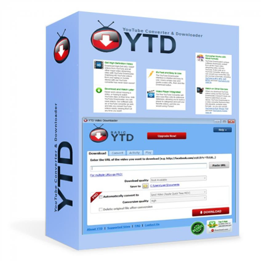 YTD Video Downloader PRO v4.8.9 HUN