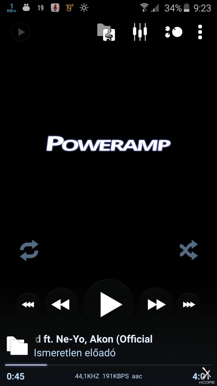 [Android] Poweramp Music Player v2.0.10.580