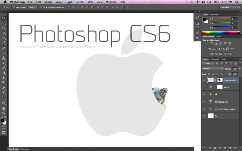 [MAC] Adobe Photoshop CS6
