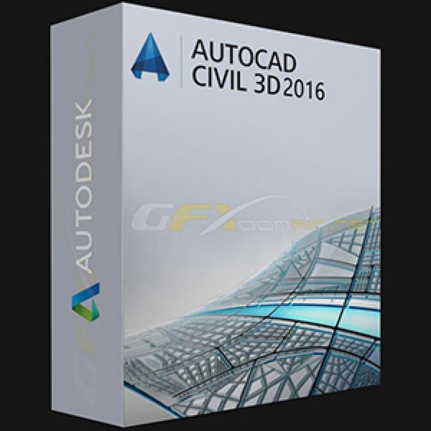 Autodesk AutoCAD Civil 3D 2016 x64 HUN