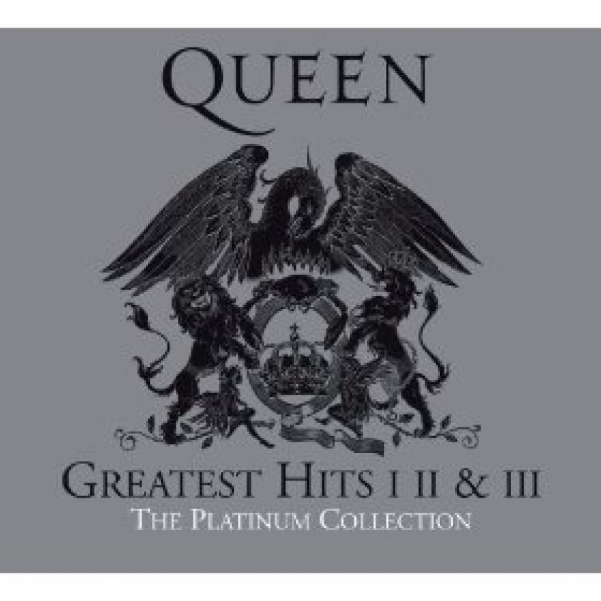Queen ‎– Greatest Hits I II & III - The Platinum Collection