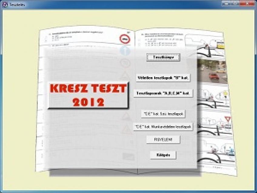 Kresz Teszt 2012 v3.3