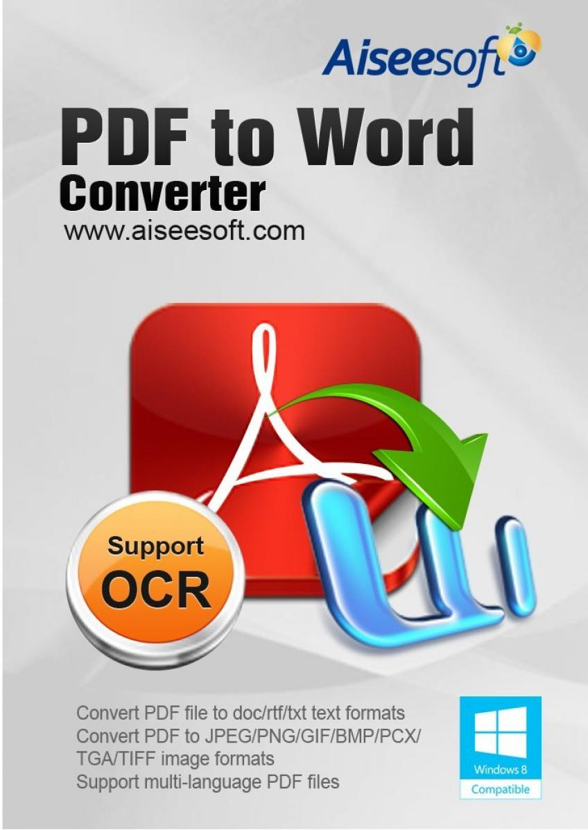 Aiseesoft PDF to Word Converter v3.2.56