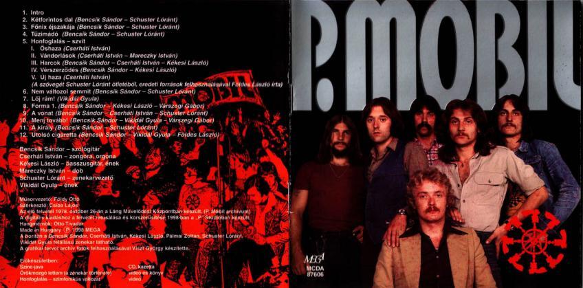 P Mobil - 1998 - Az elso nagylemez 78