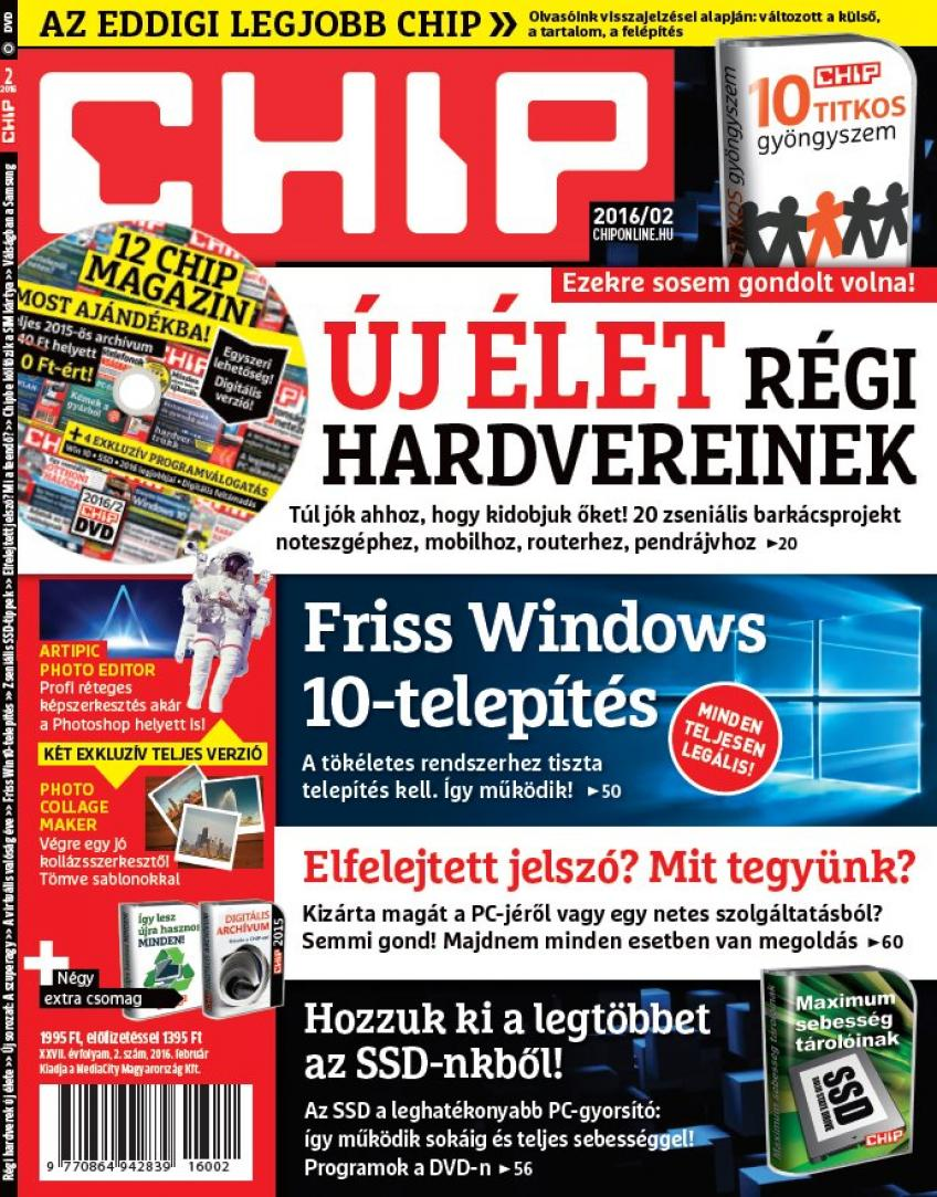 CHIP Magazin 2016 - 02.