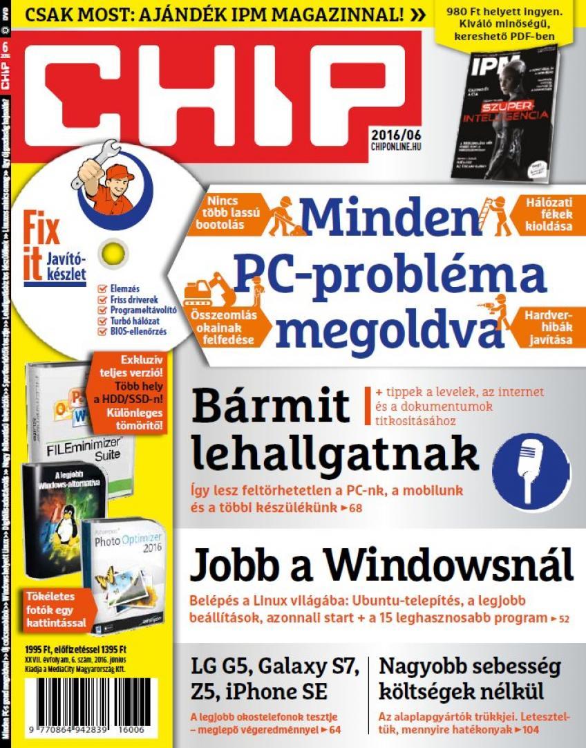 Chip Magazin 2016 - 06. DVD