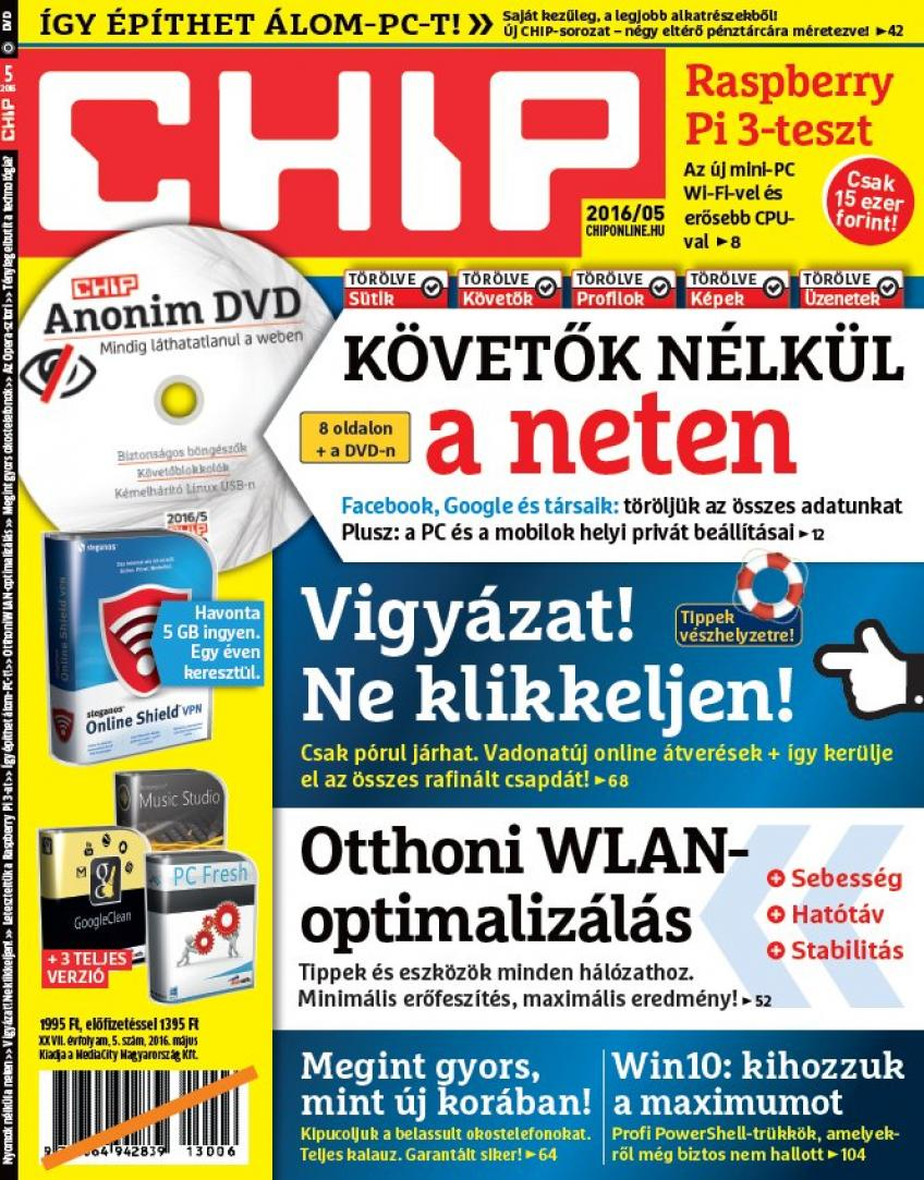 CHIP Magazin 2016 - 05.