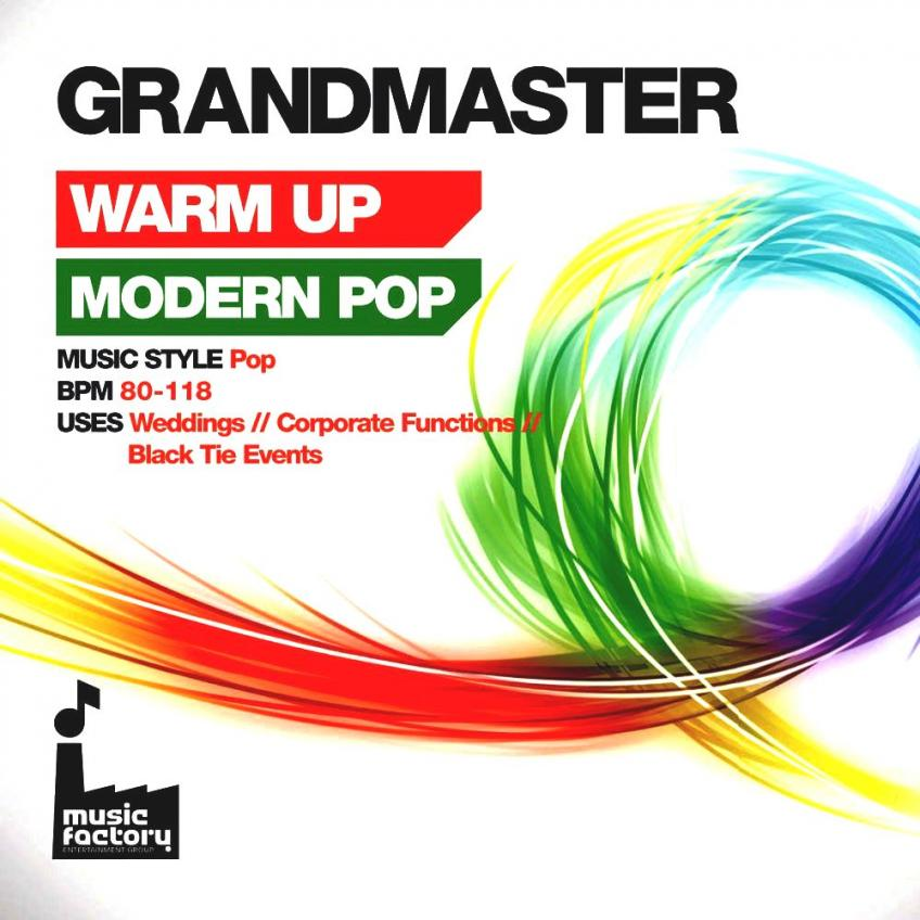 VA - Mastermix Grandmaster Warm Up Modern Pop (2016)