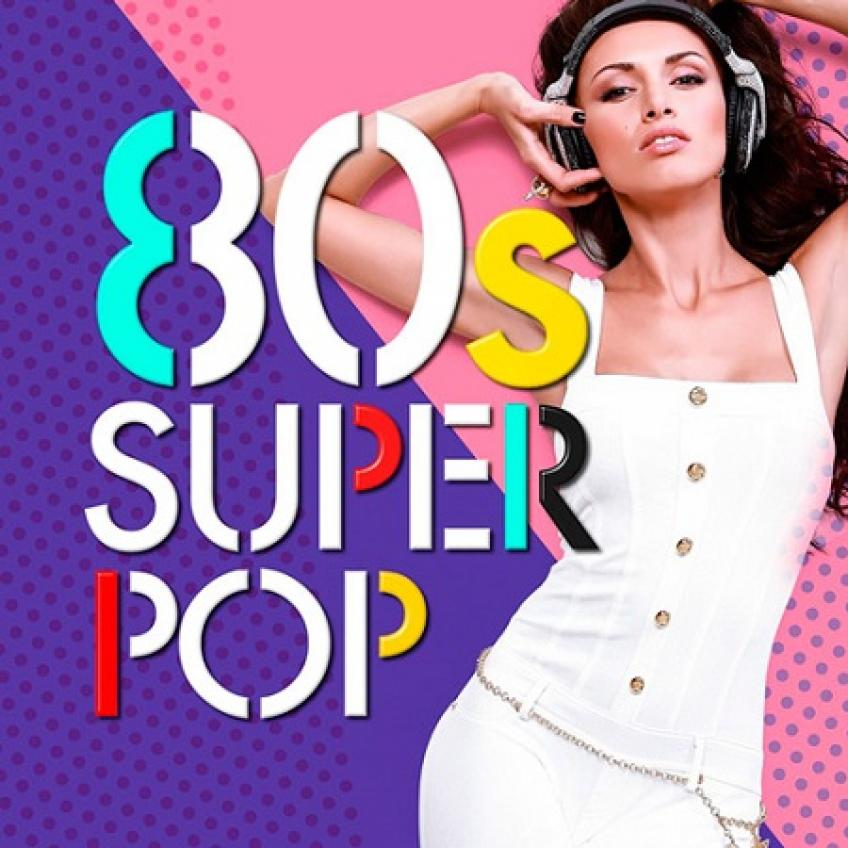 VA - 80s Super Pop 100 hits (2016)