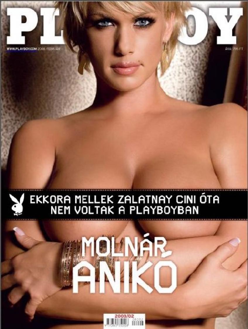 Playboy 2008 február-Molnár Anikó