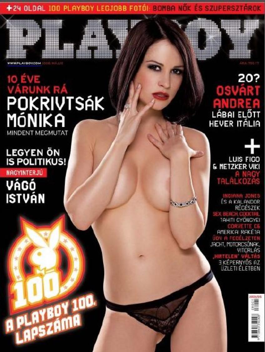 Playboy 2008 Május-Pokrivtsák Mónika