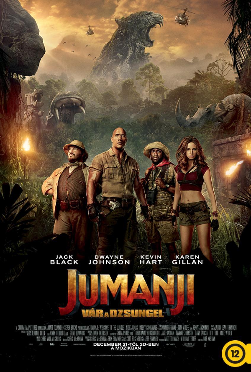 Jumanji - Vár a dzsungel