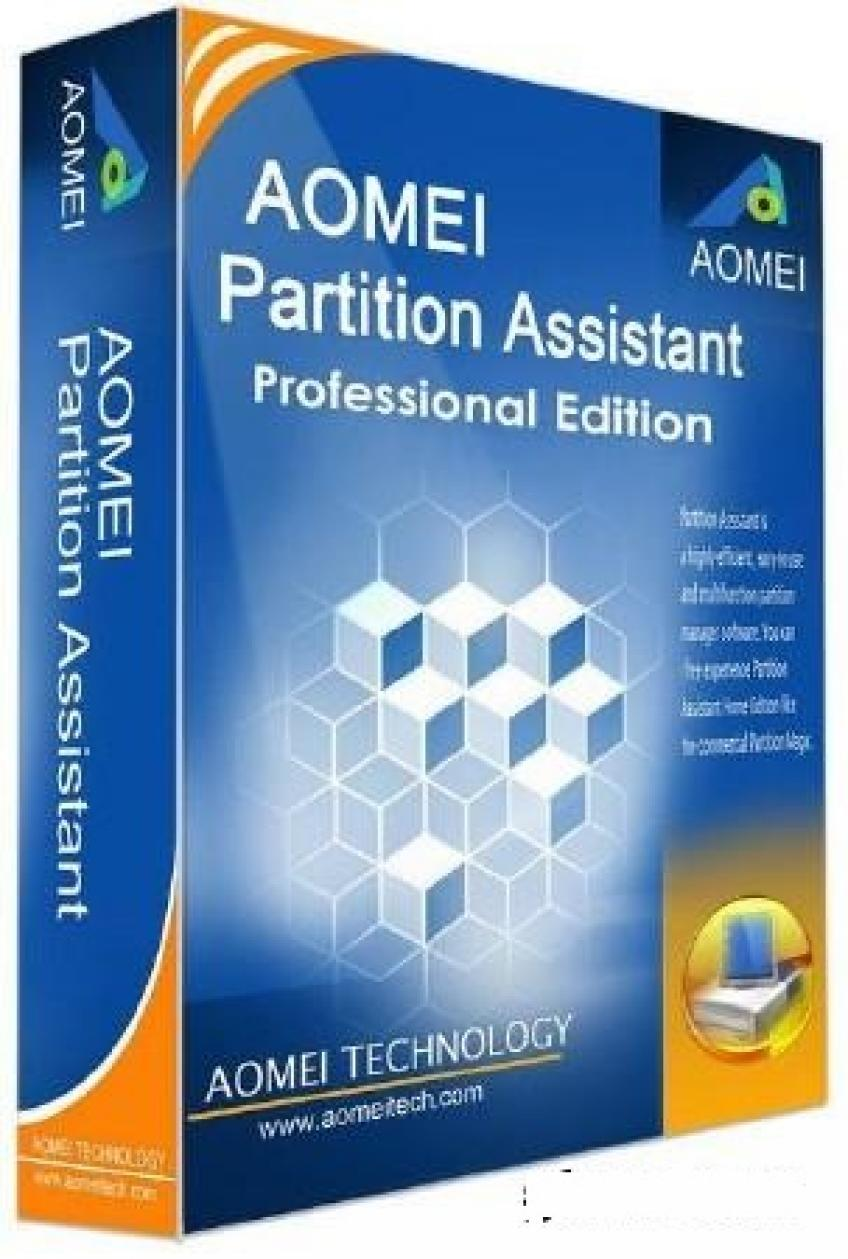 AOMEI Partition Assistant Professional Edition Bootable v7.0