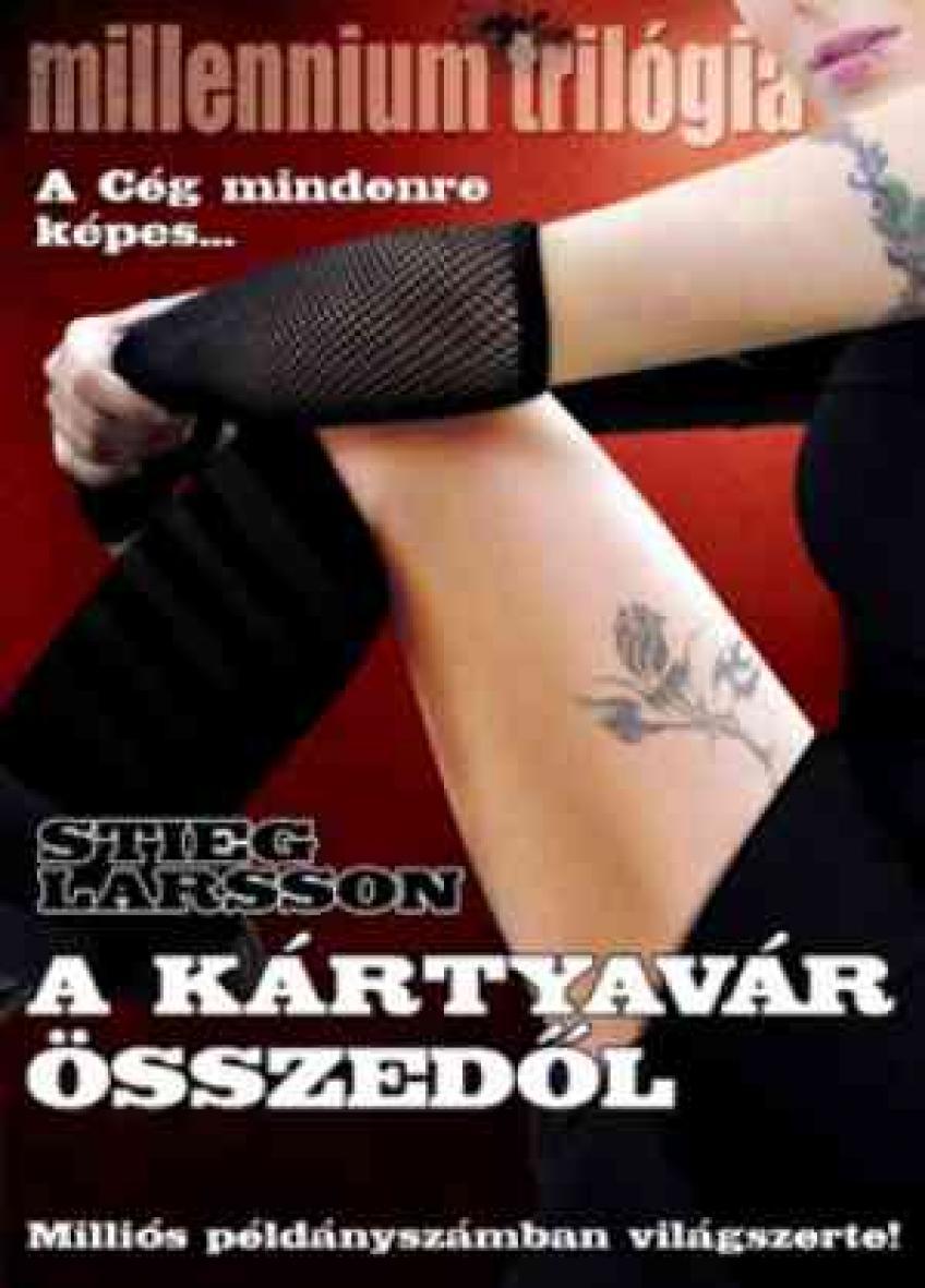 Stieg Larsson - A kártyavár összedől (Millennium 3.)