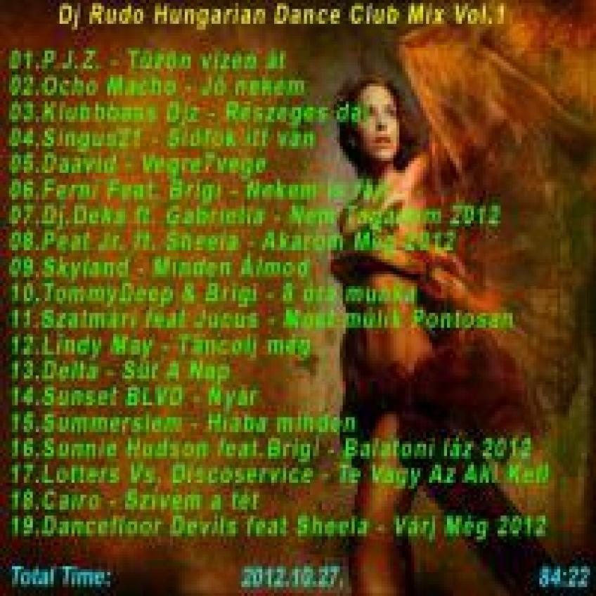 djrudo.hungaryan dance club mix vol.1