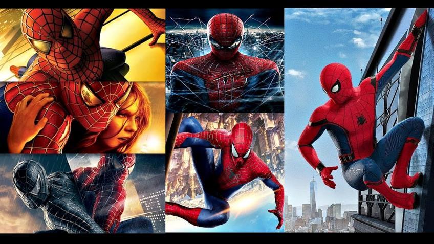 Pókember 1, 2, 3; A csodálatos Pókember 1, 2; Pókember - Hazatérés