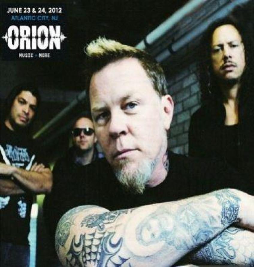 Metallica - Orion Zenei Fesztivál 2012 - The Black Album