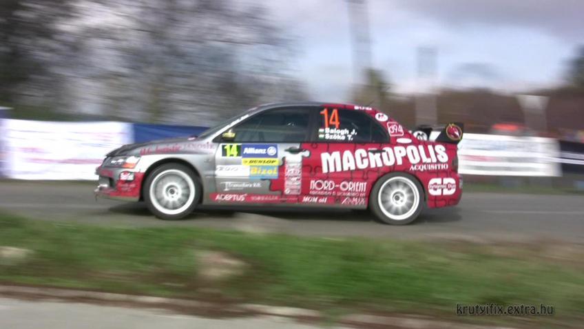 Magyar rallybajnokság 2008 Pécs