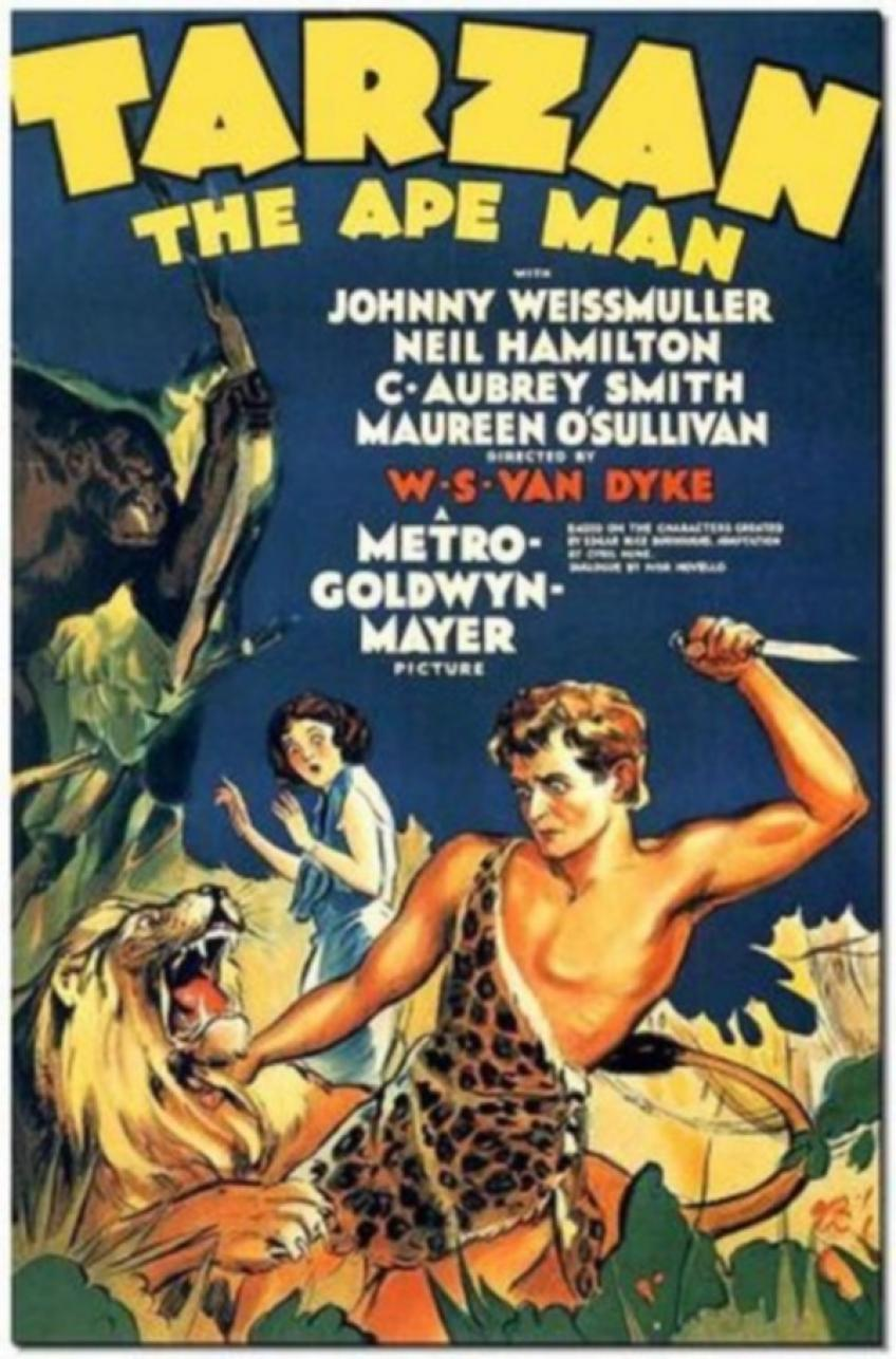 Tarzan, a majomember