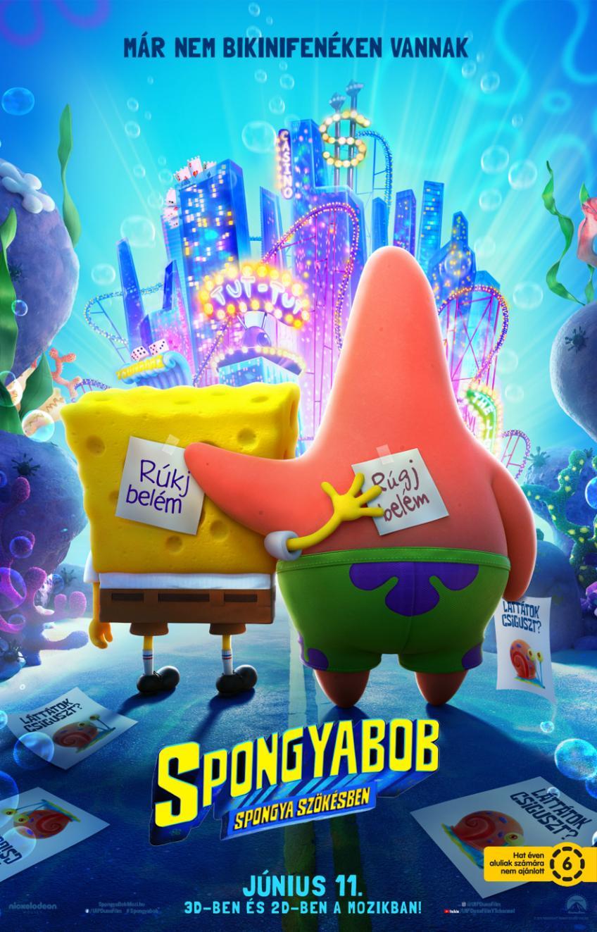 SpongyaBob: Spongya szökésben