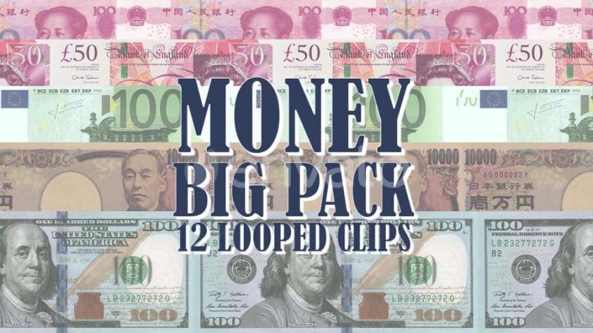 VideoHive - Money Big Pack