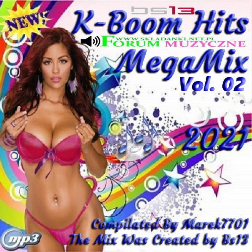 K-Boom Hits MegaMix Vol. 02 (Mixed Bs13) (2021)