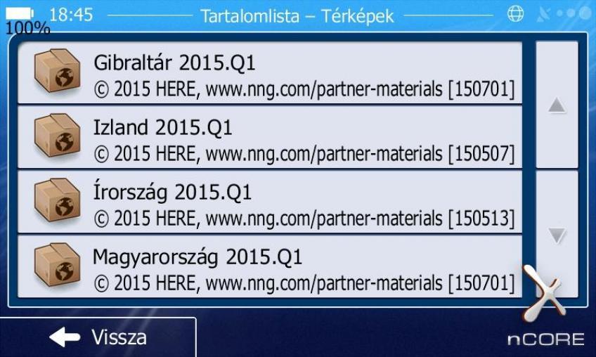 iGO Térkép - HERE 2015.Q1 Europe