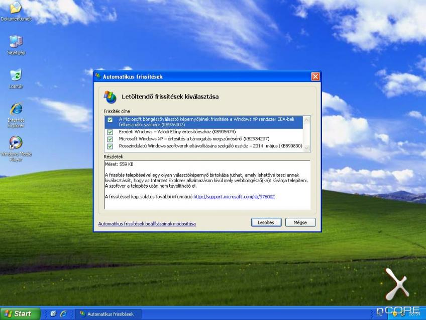 Microsoft Windows XP Professional SP3 VL HUN x86 2014.05