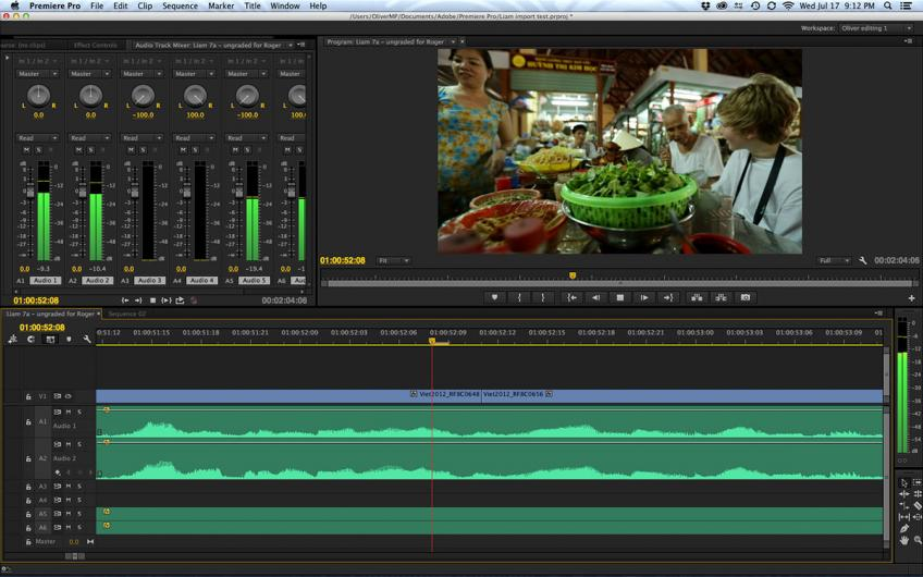 Adobe Premiere Pro CC 2015 v9.0 + Crack