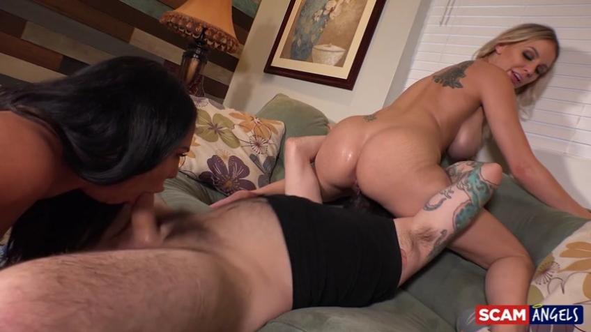 ScamAngels - Kenzie Taylor, Missy Martinez - Played our Boss
